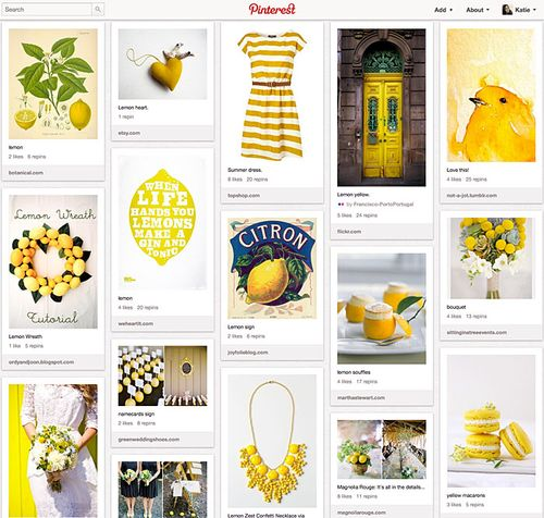 PinterestBoardYellow
